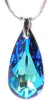 neck jewelry Troli  Drop 24 mm Bermuda Blue Neck jewelry