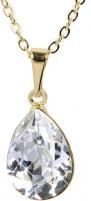 neck jewelry Troli  Pear 14 mm Crystal Neck jewelry
