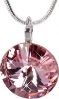 neck jewelry Troli  Rivoli 14 mm Light Rose Neck jewelry
