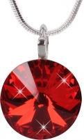 neck jewelry Troli  Rivoli 14 mm Light Siam Neck jewelry