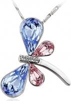 neck jewelry Vicca®  Dragonfly Blue OI_140264_blue Neck jewelry
