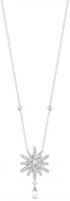 Kaklo pauošalas Morellato Silver necklace with star Pura SAHK13 Neck jewelry