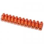 Kaladėlė sujungimo, Z12T 12x2,5mm2, oranžinė, GTV, LZ-25mm00-00