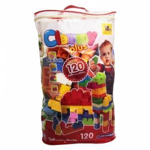 Kaladėlės 120 Soft Blocks Set