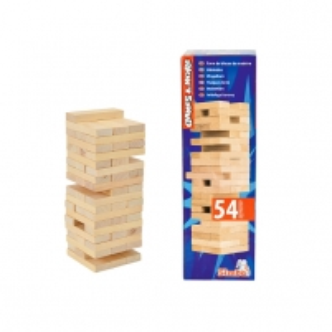 Kaladėlių bokštas Simba G&M Wooden Tumbling Tower