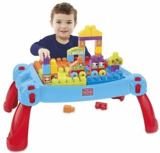 Kaladėlių stalas MEGA BLOCKS BUILD & LEARN TABLE CNM42 Kaladėlės ir statybos žaislai