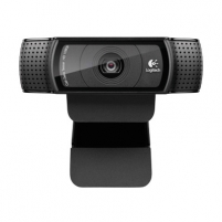 Kamera LOGI C920 HD Pro Webcam USB black Internetinės kameros