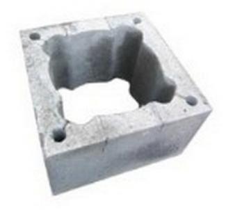 Chimney block FIBO 400 x 400 x 244 mm Fibo chimney systems