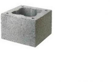 Chimney block FIBO MINI D160mm 360 x 360 x 244 mm Fibo chimney systems