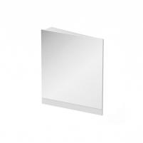 Kampinis veidrodis 10°, 550, L balta Vonios spintelės