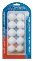 Kamuoliukai stalo žaidimui BLI-10PB 10vnt white Citas spēles