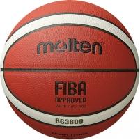 Kamuolys krepšiniui Molten B6G3800 FIBA sint. oda 6 dydis Basketball balls