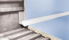 Kantelis plytelėms vidinis 7MM/2.5M RUDAS-110 Plytelių apdailos profiliai (aliuminiai, PVC)