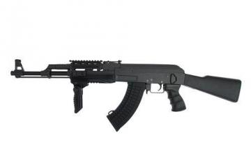 Karabinas IR-SOFT AEG AK47 Tactical AEG šratasvydžio ginklai