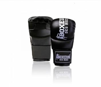 Karate pirštinės BOXEUR BXT-5141, juodos Karatė - dziudo