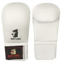 Karate pirštinės MATSURU, baltos, S dydis