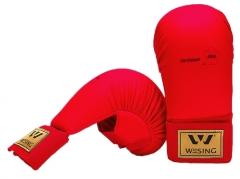 Karate pirštinės WESING WKF, raudonos Karatė - dziudo