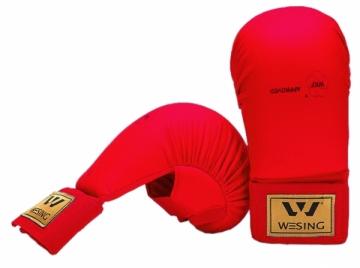 Karate pirštinės WKF L raudona Karatė - dziudo
