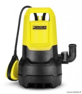 KARCHER SP 1 DIRT VANDENS SIURBLYS Dirt, water pumps