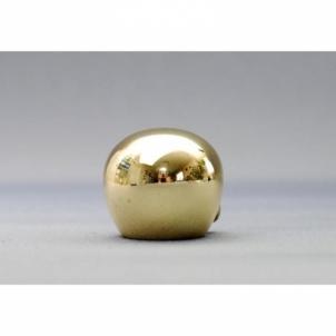 Karnizo užbaigimo detalė KULA 16 mm blizgaus aukso