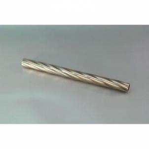 Karnizo vamzdis Twister 16 mm sendinto aukso 1.6 m