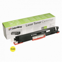 Kartridžas ColorWay toner cartridge for HP CE312A (126Y); Canon 729Y