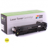 Kartridžas ColorWay toner cartridge for HP CF212A (131Y); Canon 731Y