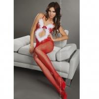 Katės kostiumas Kalėdos Erotinėms Fantazijoms