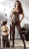Katės kostiumas Tube Catsuit black S-L For erotic fantazies