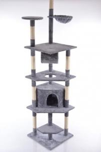 Katės namas - draskyklė CAT093, pilka Žaislai katėms