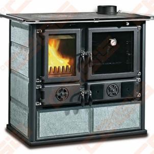 Katilas - viryklė La Nordica Extraflame Rosa (1030 x 851 x 666); 6,5kW A traditional solid fuel boilers