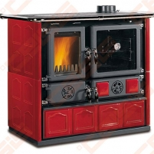Katilas - viryklė La Nordica Extraflame Rosa Maiolica (1030 x 851 x 666); 6,5kW A traditional solid fuel boilers