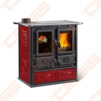 Katilas - viryklė La Nordica Extraflame Rosetta Sinistra (885 x 843 x 572); 7,2kW A traditional solid fuel boilers