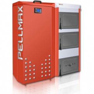 Katilas granulinis PELLMAX 16 kW, bunkerio talpa 200 l Kieto kuro granuliniai katilai