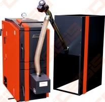 Katilas Kalvis K2-16N-DG 5-16kW (tinka kūrenti medienos granulėmis arba malkomis) A traditional solid fuel boilers