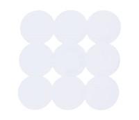 Kaučiukinis dušo kilimėlis, 54,5x54,5, baltas