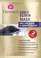 Kaukė Dermacol Gold Elixir Mask Cosmetic 16ml