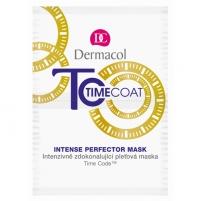 Kaukė Dermacol Time Coat Intense Perfector Mask Cosmetic 16g Kaukės ir serumai veidui
