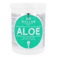 Kallos Aloe Vera Moisture Repair Shine Hair Mask Cosmetic 1000ml Matu maskas
