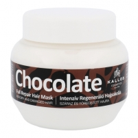 Kaukė plaukams Kallos Chocolate Full Repair Hair Mask Cosmetic 275ml Kaukės plaukams