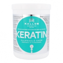 Kallos Keratin Hair Mask Cosmetic 1000ml Matu maskas