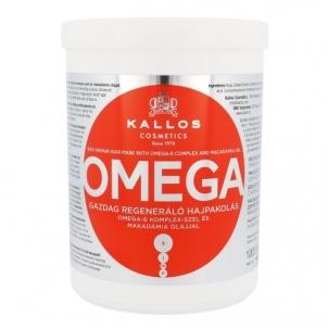 Kaukė plaukams Kallos Omega Hair Mask Cosmetic 1000ml Kaukės plaukams