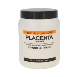 Kaukė plaukams Stapiz Basic Salon Placenta Mask Cosmetic 1000ml