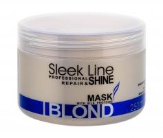 Kaukė plaukams Stapiz Sleek Line Blond Mask Cosmetic 250ml