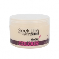 Kaukė plaukams Stapiz Sleek Line Colour Mask Cosmetic 250ml Matu maskas