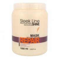 Kondicionierius plaukams Stapiz Sleek Line Repair Mask Cosmetic 1000ml Masks for hair