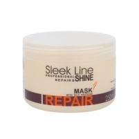 Kaukė plaukams Stapiz Sleek Line Repair Mask Cosmetic 250ml Masks for hair