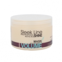 Kaukė plaukams Stapiz Sleek Line Volume Mask Cosmetic 250ml Matu maskas