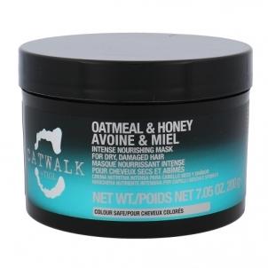 Kaukė plaukams Tigi Catwalk Oatmeal & Honey Nourishing Mask Cosmetic 200g Kaukės plaukams