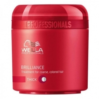 Wella Brilliance Mask Thick Hair Cosmetic 150ml Masks for hair